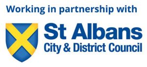 St Albans City and District Council logo City of Expertise